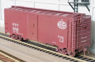 Std Ry boxcar