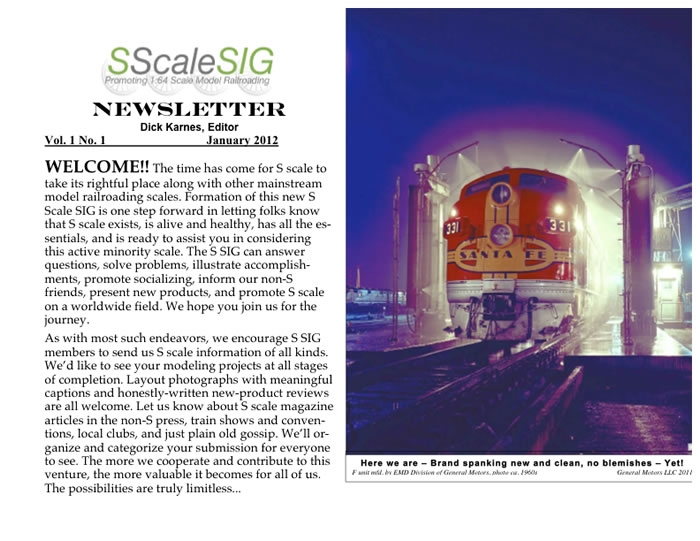 s-scale-sig-newsletter-vol-1-no-1