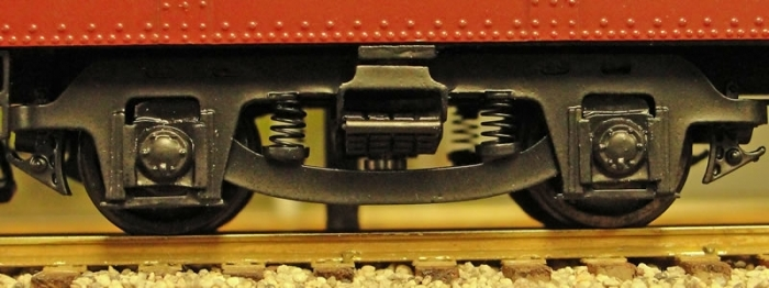 S Scale Passenger Trucks - S Scale SIG