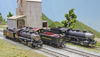 River Raisin Model's USRA 0-6-0s