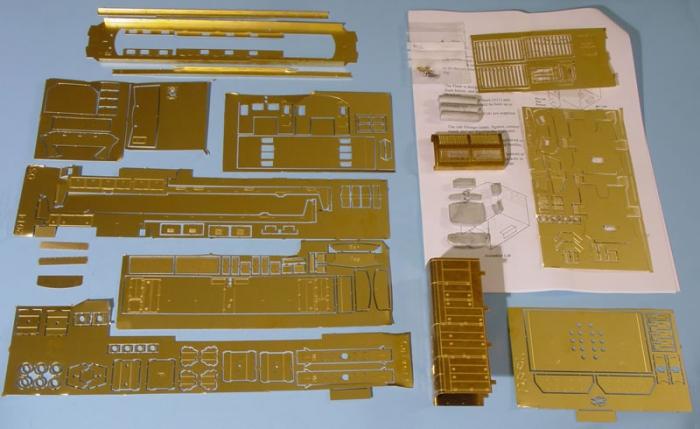 Volume 4 No 1 Gilmaur Etched Brass U18b Diesel Body Kit